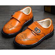 baratos Sapatos de Menino-Para Meninos Sapatos Couro Primavera Conforto Tênis para Preto / Amarelo