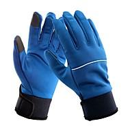 Luvas de Esqui Homens Mulheres Dedo Total Manter Quente Protecção Tecido Algodão Esportes de Neve Inverno