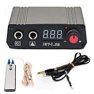 Strømforsyning Tattoo Machine Power Supply Digital professionel magt Klipsledning Fodskifte Strømstik
