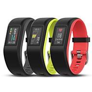 tanie Inteligentne zegarki-garmin vivosport inteligentna bransoletka oparta na nadgarstku stopa tętna stoper gps działanie fitness tracker