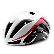 CAIRBULL 大人 バイクヘルメット 17 通気孔 CE / CE EN 1077 準拠規格 耐衝撃性, 軽量, サイズ調整機能 EPS, PC ロードバイク / レクリエーションサイクリング / サイクリング / バイク - グリーン / ブルー / 白と黒 男性用 / 女性用