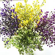 36cm 3 stk 5 grener / stk hjem dekorasjon kunstige planter blomst vakre blomster