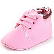赤ちゃん 靴 レザーレット 春 秋 コンフォートシューズ 赤ちゃん用靴 フラット 用途 カジュアル グレー Brown ブルー ピンク カーキ色