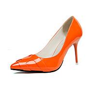 Žene Cipele PU Proljeće / Jesen Udobne cipele Cipele na petu Crvena / Crvena / Pink