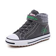 Poikien kengät Canvas Syksy Talvi Comfort Bootsit Käyttötarkoitus Kausaliteetti Musta Harmaa
