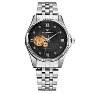 Pánské Dámské Hodinky k šatům Módní hodinky mechanické hodinky Automatické natahování Slitina Kapela