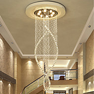 abordables -Lámparas Araña Luz Downlight - Cristal Bombilla incluida Los diseñadores, Artístico Inspirado en la Naturaleza LED Moderno Campestre