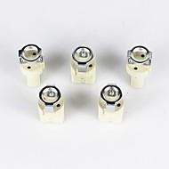 billige belysning Tilbehør-g9 keramisk lampholder 5 stk