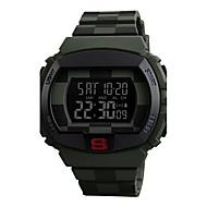 billige Quartz-Herre Dame Militærur Armbåndsur Digital Watch Japansk Quartz 30 m Hot Salg Silikone Bånd Digital Vedhæng Sort / Blåt / Grøn - Blå Sølv / Grå Camouflagegrøn