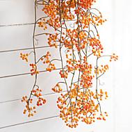 2 Gren Plastikk Planter Veggblomst Kunstige blomster