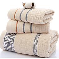 tanie Zestaw ręczników kąpielowych-Set Bath Towel,Pasiasty Wysoka jakość Czysta bawełna Ręcznik