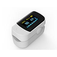 正確なfs20d白色カラー指先パルス酸素濃度計酸素測定酸素酸素飽和度モニタ電池付き