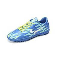 baratos Sapatos Masculinos-Homens Solas Claras Couro Sintético / Couro Ecológico Verão / Inverno Tênis Futebol Amarelo / Azul / Preto / verde