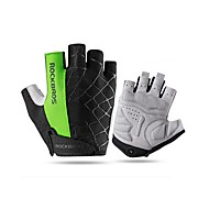 ROCKBROS Sports Gloves Bike Gloves / Cycling Gloves Breathable / Sunscreen Fingerless Gloves Mesh Cycling / Bike Unisex