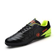 baratos Sapatos Masculinos-Homens Couro Sintético Todas as Estações Conforto Tênis Futebol Preto / Laranja / Amarelo
