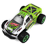 Fjernstyret bil JJRC Q35 2.4G Off Road Car Højhastighed 4WD Driftbil Buggy SUV Monster Truck Bigfoot 1:24 30 KM / H Fjernbetjening