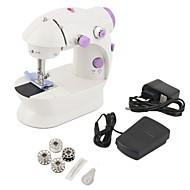 billige El Værktøj-Mini elektrisk håndholdt symaskine med to hastighedsjusteringer med let fods dobbelt tråds symaskine