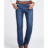 Masculino Calças Jeans Calças,Jeans Sólido