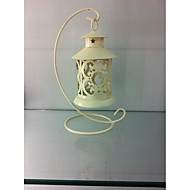 cheap Candles & Candleholders-1 PC European Style Vintage Iron Art Candle Holder Home Decoration