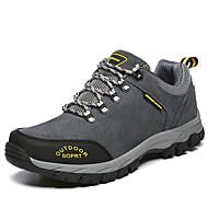 メンズ 靴 スエード 春 秋 コンフォートシューズ スニーカー ハイキング 編み上げ 用途 カジュアル グレー Brown グリーン