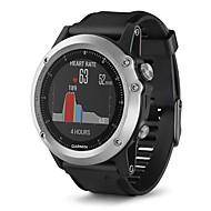 billige Sportsur-GARMIN® Herre / Dame Sportsur / Armbåndsur schweizisk Bluetooth / Alarm / Kalender Silikone Bånd Sort / Vandafvisende / Skridttællere / Kompas / LCD / Stopur