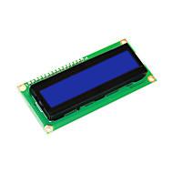 hesapli Ekranlar-keyestudio 16x2 1602 i2c / twi lcd arduino için ekran modülü uno r3 mega 2560 beyaz mavi