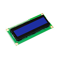 keyestudio 16x2 1602 i2c / twi lcd displaymodul for arduino uno r3 mega 2560 hvit i blå