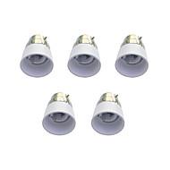 baratos -b22 para e14 acessório bulbo de lâmpada rápida acessório 5pcs