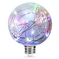 1個のg95の妖精の光の休日のライトe27マルチカラー/ブルー/ピンクのクリスマスの文字列のライトエジソンのランプac85-265v