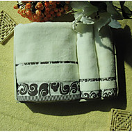 Frisk stil Badehåndkle Sett,Kreativ Overlegen kvalitet Ren bomull Håndkle