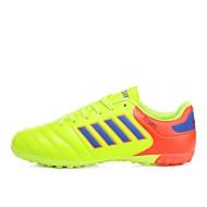 baratos Sapatos Masculinos-Homens Solas Claras Couro Sintético / Couro Ecológico Verão / Inverno Solados com Luzes Tênis Futebol Laranja / Amarelo / Azul