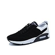 Muške Cipele Til Proljeće Jesen Udobne cipele spušten čizme Atletičarke tenisice Trčanje Vezanje Za Kauzalni Crn Crno bijela Crvena