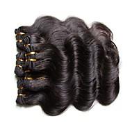 jeftina brazilska vlaga kose tijela ispremi 6pcs 300g puno 100% ljudske kose materijala prirodne crne boje
