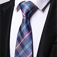 Herre Kontor Slips - Polyester Blomstret