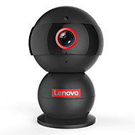 Lenovo® Snowman Thinker 720P 1.0 MP IP Camera with Day Night Baby Monitor (Support TF Up to 32G, APP Language can Choose Egnlish)