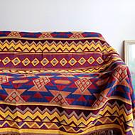 Superweich,Bedruckt Gitter Polyester Decken