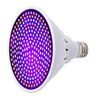 1pc 25W 1500 lm E27 Uzgoj žarulja 260 LED diode SMD Ukrasno LED svjetlo Plavo Crveno AC 85-265V