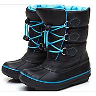Jongens Schoenen Kunstleer Herfst Winter Comfortabel Snowboots Laarzen Voor Causaal Zwart Rood Blauw
