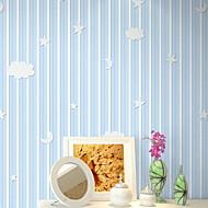 Damasco Floral Decoração para casa Moderna Revestimento de paredes , Tecido Não-Tecelado Material adesivo necessário papel de parede ,