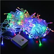 lichten 20m / 200leds led string 220v voor vakantie / feest / bruiloft / nieuwjaar woondecoratie gratis verzending eu
