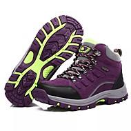 tanie Obuwie damskie-Damskie Obuwie PU Wiosna Jesień Comfort Buty do lekkiej atletyki Turystyka górska Okrągły Toe Szurowane na Atletyczny Purple Różowy