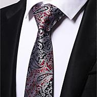 billige Tilbehør til herrer-Herre Slips Blomstret Polyester