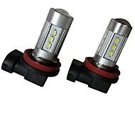 2pcs 9003 / H8 / 9006 車載 電球 35W SMD 3030 2800lm 10 フォグライト For ユニバーサル 全ての機種 全年式