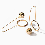Women's Geometric Drop Earrings - European, Fashion Gold / Silver For Party / Daily
