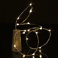 Χαμηλού Κόστους 9η επέτειος πωλήσεων-BRELONG® 0,5m Φώτα σε Κορδόνι 5 LEDs Μικροδιακόπτες (Dip) LED Θερμό Λευκό / Άσπρο / Μπλε Αδιάβροχη 1pc
