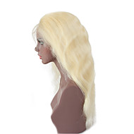 cheap Wigs & Hair Pieces-Remy Human Hair Full Lace Wig Brazilian Hair Body Wave 130% Density Natural Hairline Short Medium Long Women's Human Hair Lace Wig