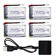 SH5 SH5W SH5HD X52HD 1set batteri Generel / Fjernstyret quadcopter Generel / Fjernstyret quadcopter -