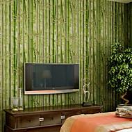 Geometrisk Tapet til Hjemmet Moderne Tapetsering , Pvc / Vinyl Materiale selvklebende nødvendig bakgrunns , Tapet