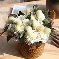 billige Kunstig Blomst-Kunstige blomster 11 Europæisk Tusindfryd Bordblomst / Ikke Inkluderet