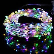 billiga Belysning-HKV Ljusslingor 20 lysdioder Varmvit Kallvit RGB + Warm Grön Blå Röd Vattentät <5V